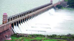 tungabhadra dam water level today in tmc